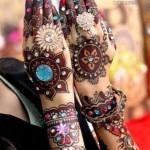 Mona's Stylish Menhdi designs for girls 2013 (5)