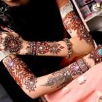 Mona's Stylish Menhdi designs for girls 2013 (8)