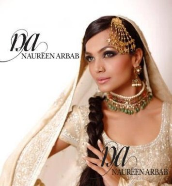 Naureen Arbab party casual dress for girls 2013 (9)