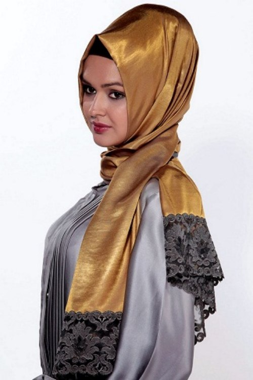 New Arabic Scarf Collection For Girls 2013