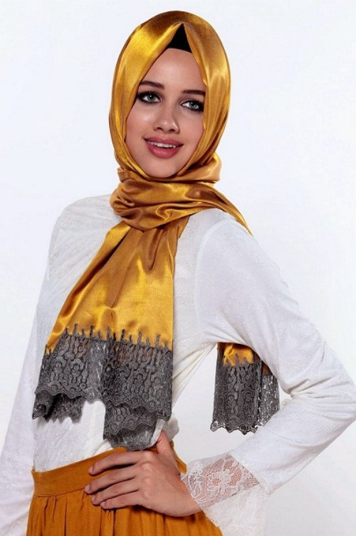 Arabic Scarf Collection For Girls 2013-2014