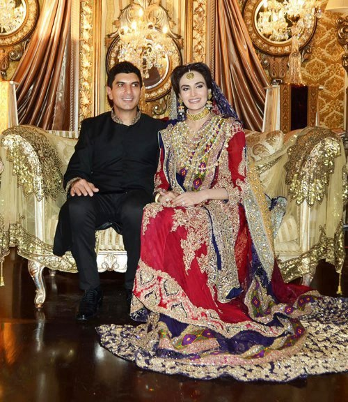 Pakistani Model Mehreen Syed Wedding With Ahmed Sheikh (1)