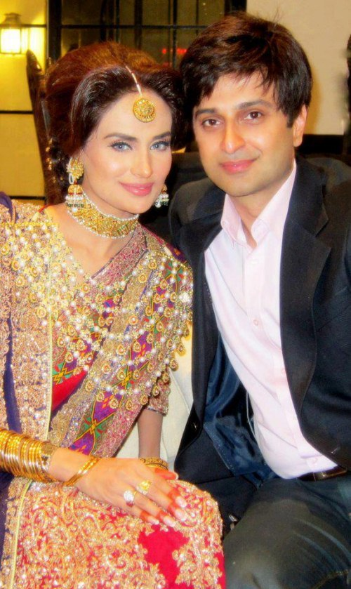 Pakistani Model Mehreen Syed Wedding With Ahmed Sheikh (4) | Latest