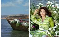 Zaheer Abbas Lawn Collection Shariq Textile