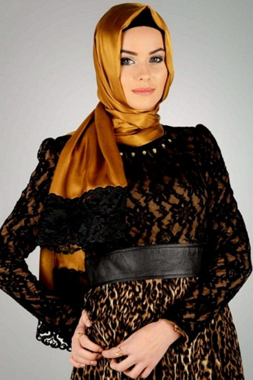 trendyArabic Scarf Collection For Girls 2013-2014