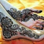 Arabic Mehndi Designs 2013 For Young girls