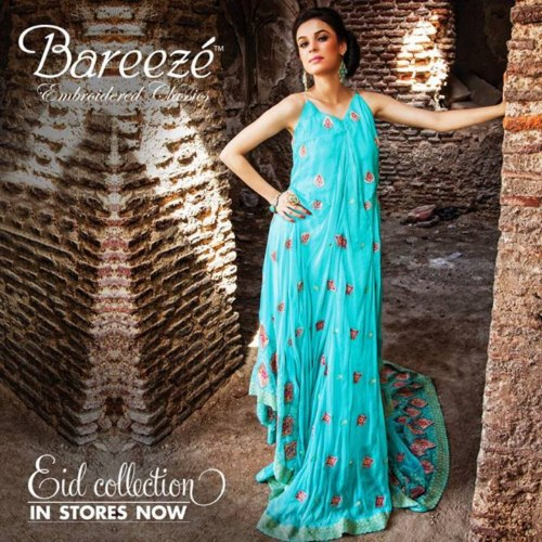 Bareeze Eid Collection For Girls 2013 (2)