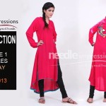 Beautiful Pret Eid Collection 2013 Volume 1 By Needle Impressions 001