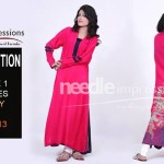 Beautiful Pret Eid Collection 2013 Volume 1 By Needle Impressions 011
