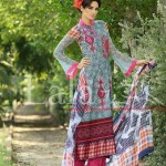 Blossom by Lala Textile Latest Eid Lawn Collection 2013 014