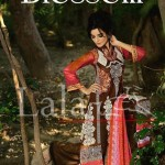 Blossom by Lala Textile Latest Eid Lawn Collection 2013 015