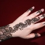 Easy and stylish Mehndi Designs 2013