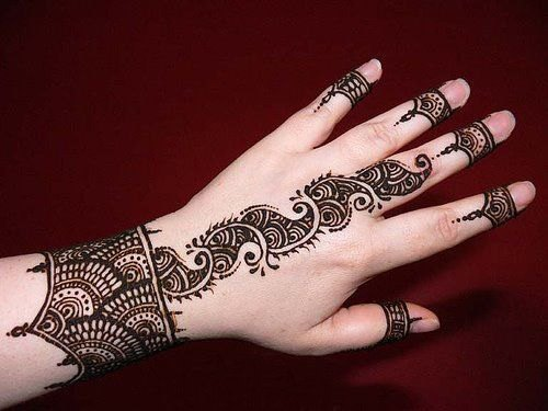Easy and stylish Mehndi Designs 2019