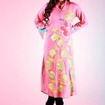 Eid Flower Print Kurta Collection 2013 by Grapes the brand (11)