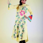 Eid Flower Print Kurta Collection 2013 by Grapes the brand (6)