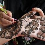 Eid Mehndi Design for women 2013