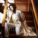 Hira Lari Latest Eid Jumpsuits Collection 2013 by Afroze Textiles 010