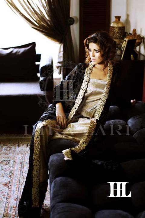 Hira Lari Latest Eid Jumpsuits Collection 2013 by Afroze Textiles 008