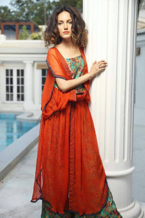 Nida Azwer Formals Eid Outfits 2013 Part-1 For Ladies 006