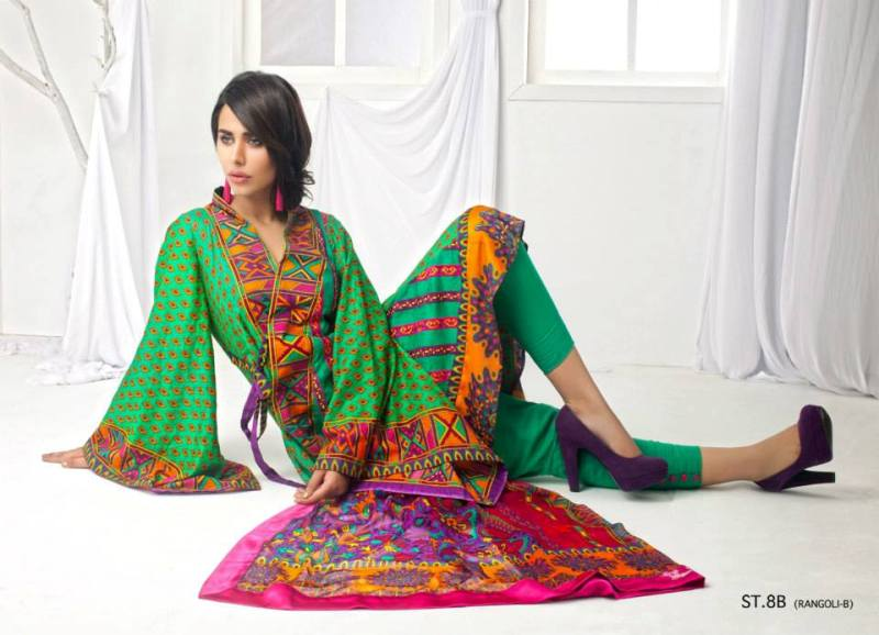 Shariq Textile Eid collection 2013 for women (5)