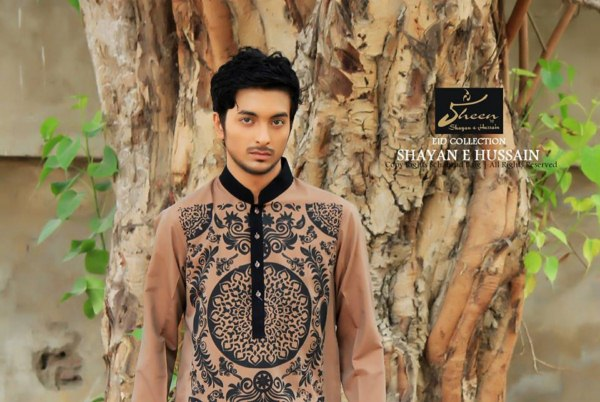 Sheen by Shayan e Hussain Eid Kurta collection 2013 for men (6)Sheen by Shayan e Hussain Eid Kurta collection 2013 for men (6)