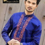 Sheen by Shayan e Hussain Eid Kurta collection 2013 for men (1)