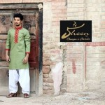 Sheen by Shayan e Hussain Eid Kurta collection 2013 for men (4)