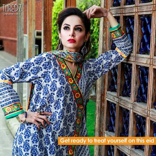 Thredz Eid Dresses Mid Summer Collection 2013 For Girls