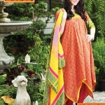 Warda Designer Eid ul Fitr Lawn Suits 2013 For Women005