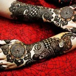 Trendy eid chand raat mehndi designs 2013-14