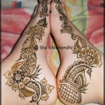 Beautiful Eid Mehndi Designs collection 2013 for girls (6)