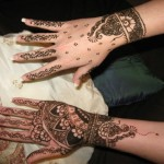 latest hand and feet mehndi designs