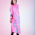 Grapes Flower Print kurta collection 2013-2014 for girls and women (3)