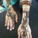 Latest Eid ul fitr mehndi desings 2013-2014 for girls (10)