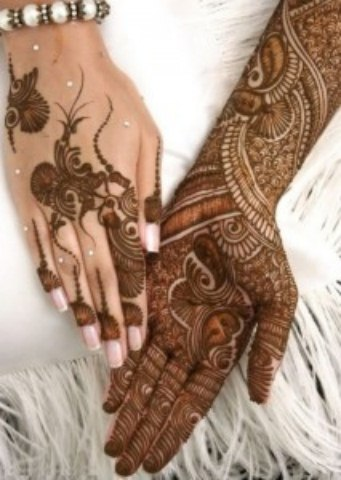 Latest Eid ul fitr mehndi desings 2013-2014 for girls (11)