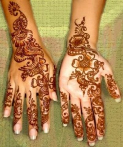 Latest Eid ul fitr mehndi desings 2013-2014 for girls (4)
