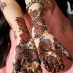 Latest Eid ul fitr mehndi desings 2013-2014 for girls (8)