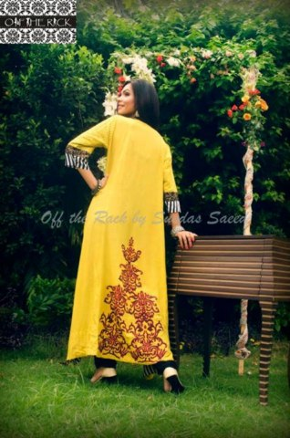 Off the rack by Sundas Saeed Latest Print Mania Eid Collection 2013 (8)