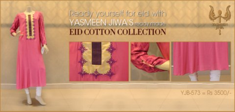 Yasmeen Jiwa's Eid Cotton Dress Collection 2013 (2)