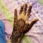 girls eid mehndi designs 2013-14