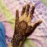 girls eid mehndi designs 2013-14