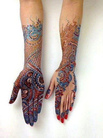 latest eid ul fitr mehndi designs