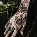 stylish eid mehndi designs collection