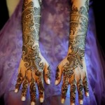 Arabic Bridal Mehndi design book collection 2013 (11)