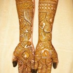 Arabic Bridal Mehndi design book collection 2013 (2)