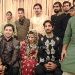 Famous Fashion Model ZAHID TAIMOOR wedding waleema pictures (1)
