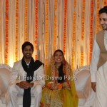 Famous Fashion Model ZAHID TAIMOOR wedding waleema pictures (6)