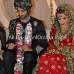 Famous Fashion Model ZAHID TAIMOOR wedding waleema pictures (7)