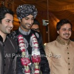 Famous Fashion Model ZAHID TAIMOOR wedding waleema pictures (9)