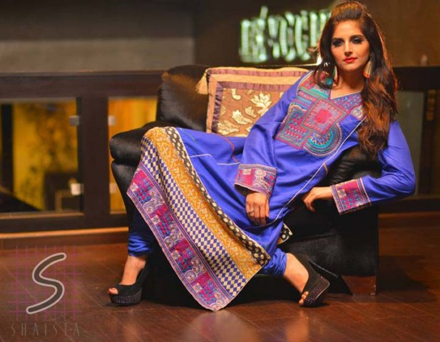 Shaista Eid Party wear winter collection 2013-2014 for women (5)